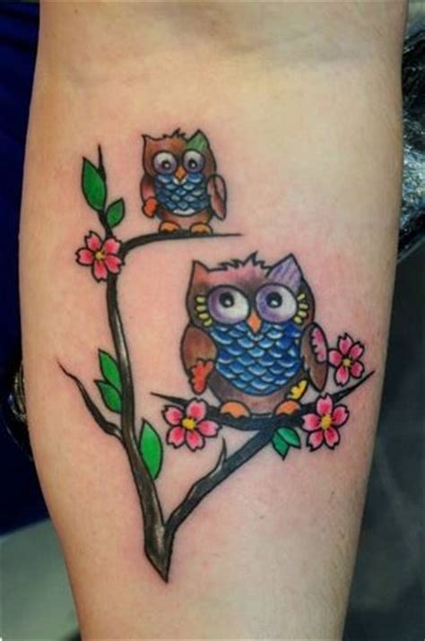 tattoo family owl 27 owl family tattoos ideas