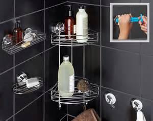 accessoires de salle de bains par ventouse ultra