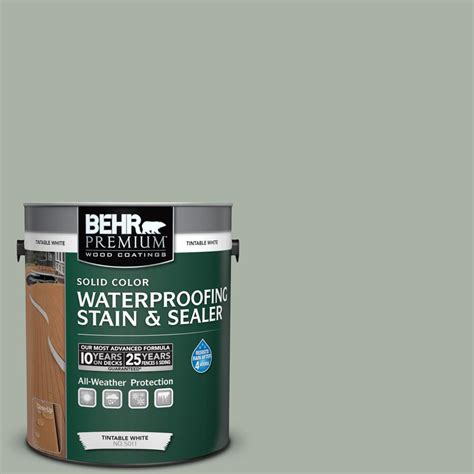 behr solid color waterproofing wood stain behr premium 1 gal sc 149 light lead solid color