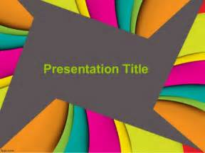 presentation of the colors abstract powerpoint templates and color slides powerpoint