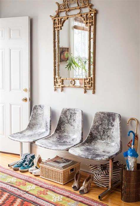 decoupage diy projects diy decoupage marble fabric chairs design sponge