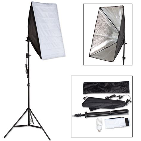 Softbox Lighting by Continuous Studio Photography Lighting Kit Softbox
