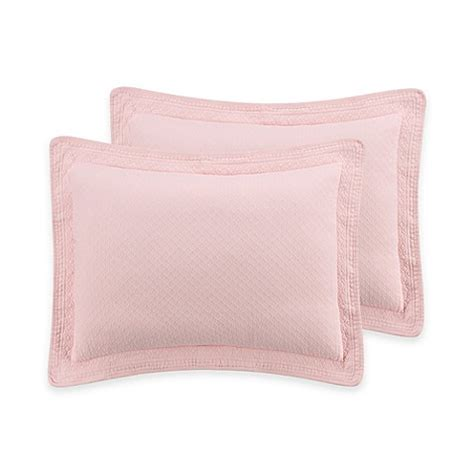bed bath and beyond williamsburg buy williamsburg abby standard pillow sham in shell from