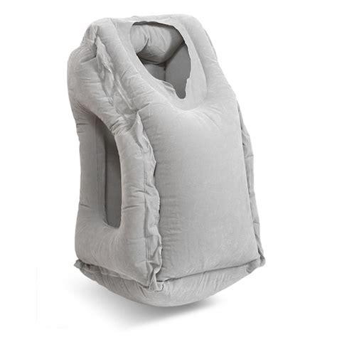 japan trend shop oyasumi pillow travel sleeping cushion