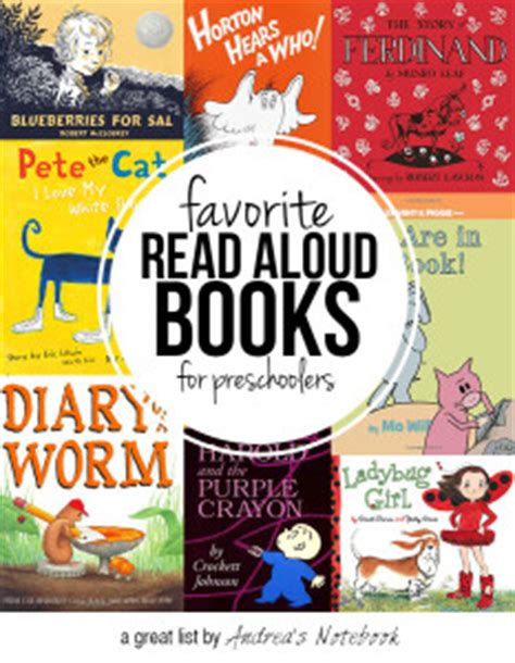 read aloud picture books 80 children s books made into andrea s notebook