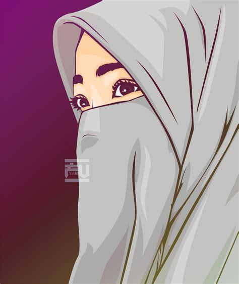 anime girl hijab keren dowload anime wallpaper hd