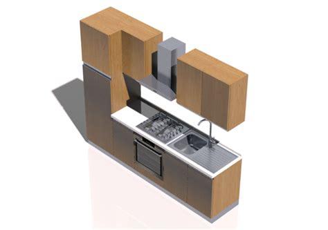 cucina in 3d cucine 3d cucina lineare 255x216cm acca software