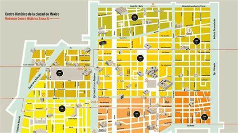 imagenes centro historico ciudad mexico mapa centro hist 243 rico ciudad de m 233 xico m 233 xico pinterest