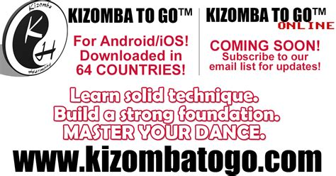 At Your Own Pace Mba by Kizomba To Go Learn Kizomba At Your Own Pace