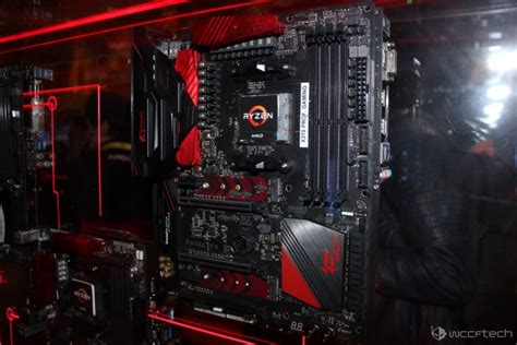Asrock Fatal1ty X370 Gaming X Am4 Amd Promontory X370 Ddr4 Usb3 0 amd ryzen am4 platform with high end x370 boards showcased