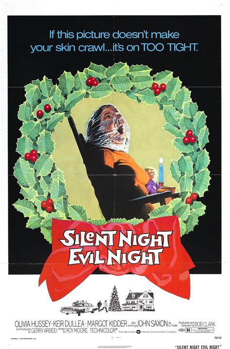 poster for black christmas aka silent night evil night