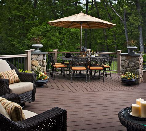 deck design ideas awesome home deck designs homesfeed