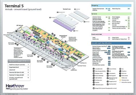 heathrow terminal 5 floor plan heathrow terminal map kleinconstantiacycling com