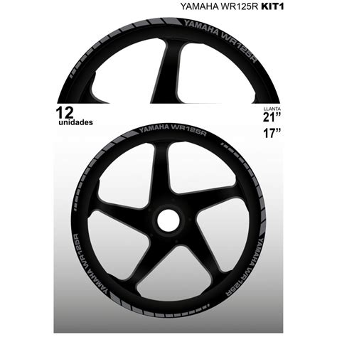 Aufkleber Yamaha Wr 125 R by Yamaha Wr125r Vinyls Abziehbilder Aufkleber Klebstoffe