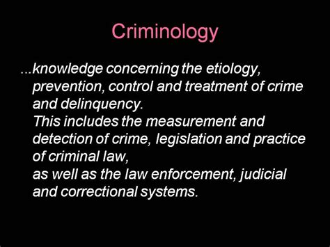 fabio barbafina briefing what is criminology http