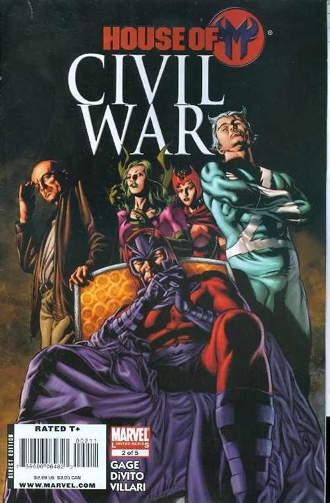 house of m civil war house of m 2 2008 marvel comic book