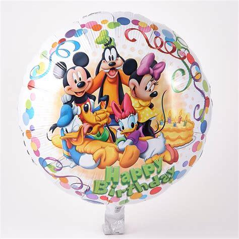 Balon Happy Birthday Mickey Mouse 22094 disney mickey mouse friends happy birthday foil helium