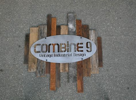 Combine 9   Industrial Furniture ? Reclaimed Wood and