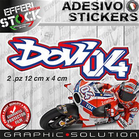 Andrea Dovizioso Flag Dovi 04 adesivi sticker 2 pz 04 dovizioso andrea ad moto gp ducati
