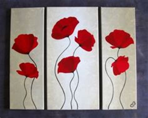 peintures fleurs on toile painting flowers and painting
