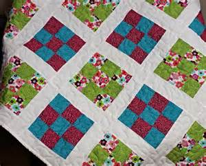Size Of Baby Quilt For Crib Handmade Baby Quilt Size 42 By 56 Crib Bedding By Pegssewcrafty