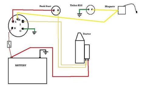 motor push b10 diesel ignition switch wiring diagram