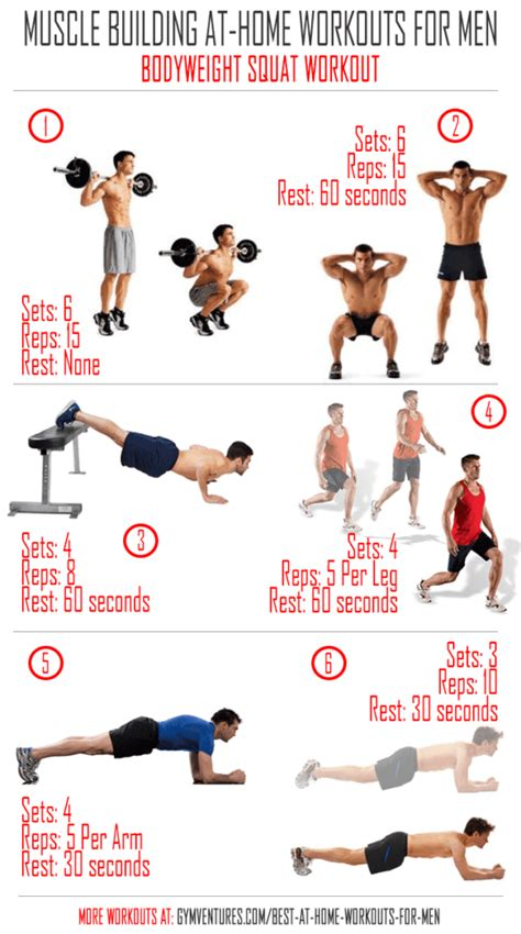 Home Workout Plans Men | at home workouts for men 10 muscle building workouts