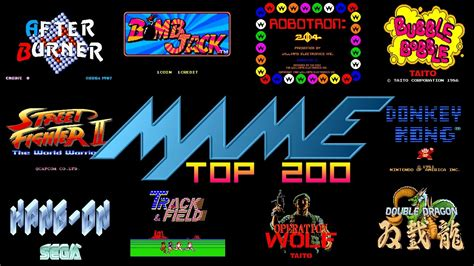 mame best mame arcade top 200