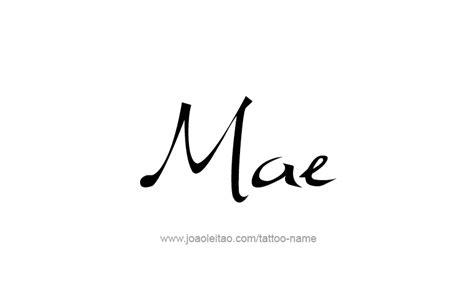 mae design mae name designs