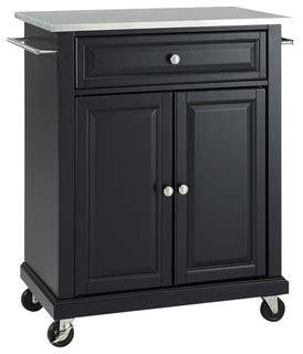 black stanless steel kitchen island decosee com stainless steel top portable kitchen cart island
