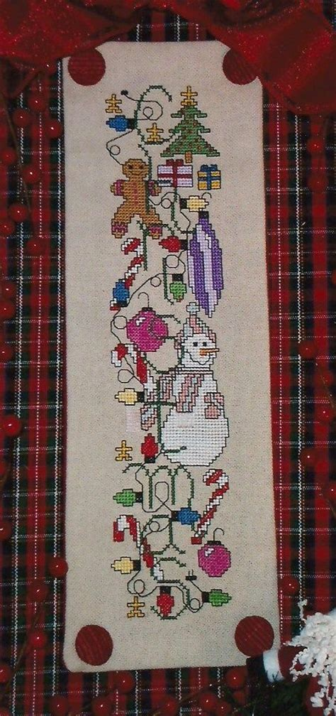 patterns christmas banners 653 best a stitch christmas images on pinterest