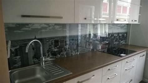 kitchen glass backsplash with digital printing made of kitchen glass backsplash with digital printing made of