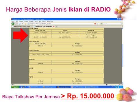 A N Isa Febrianti contoh iklan produk radio contoh six