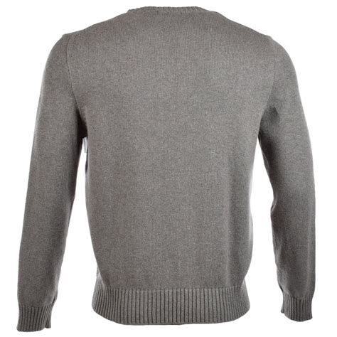 ralph knitted polo polo ralph polo ralph grey knitted jumper