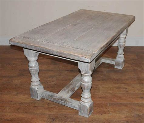 rustic oak kitchen table painted oak rustic kitchen refectory table dining