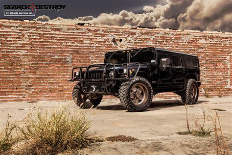 Black Destroy 1 hummer h1 tactical search destroy tier 3 for sale evs