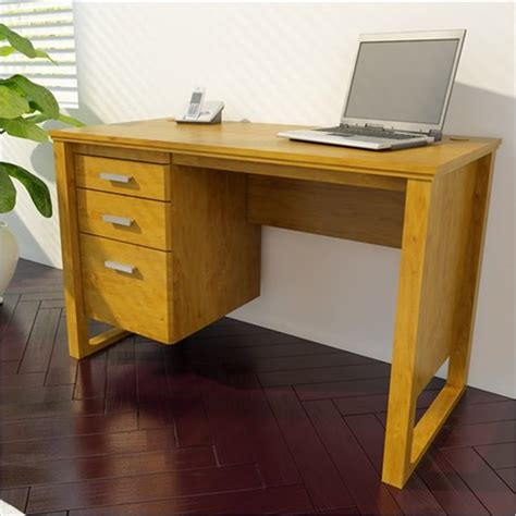 home office desk with drawers 1 file drawer home office desk in bank alder 9298301pcom