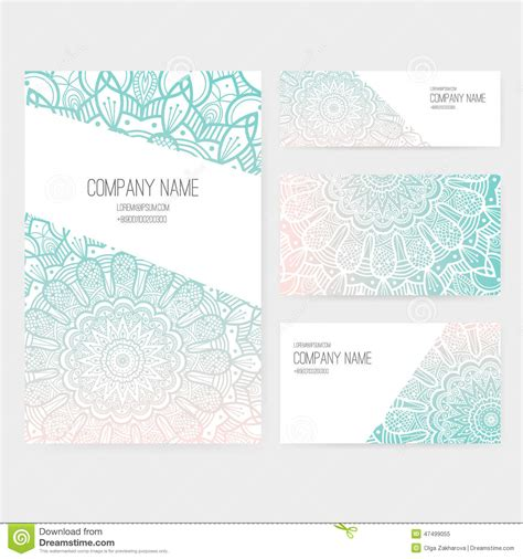 invitation card ppt template presentation vector kit stock vector image 47499055