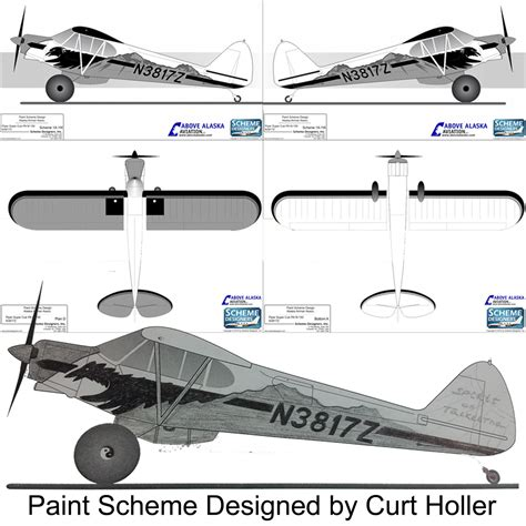 paint scheme 2016 super cub paint scheme contest above alaska