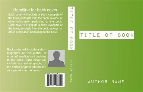 Basic Book Cover Templates Self Publishing Relief Book Cover Template