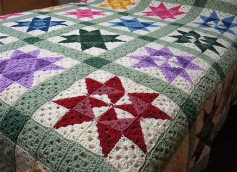 Easy Patchwork Blanket - 25 best ideas about crochet quilt on square