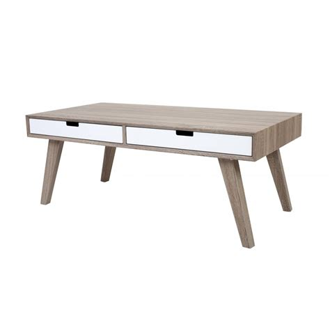 Retro Style Coffee Table Buy Retro Style Wood And White Veneer Coffee Table From Fusion Living