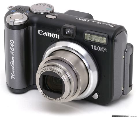 best canon powershot canon powershot a640 review digital photography review