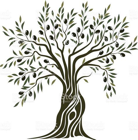 albero clipart albero di ulivo illustrazione 466410562 istock