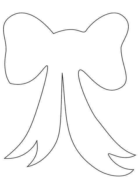 printable hair templates large bow template stencil printable for diy sewing