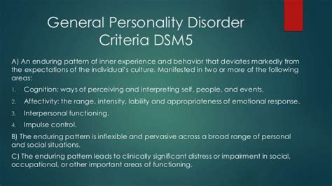Dsm Also Search For Dsm 5 The Ten Personality Disorders Cluster A Autos Post