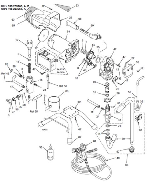 graco 395 parts diagram o gee paint ultra 395 495 stand