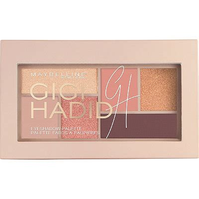Eyeshadow Maybelline Glow gigi hadid west coast glow eyeshadow palette ulta