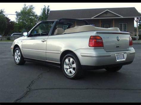 Volkswagen Cabrio 2001 by 2001 Volkswagen Cabrio Information And Photos Momentcar
