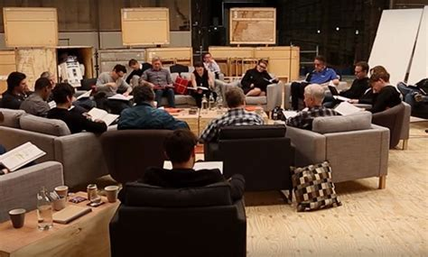 Table Read by Wars The Awakens Original Script Table Read
